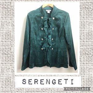 Serengeti Green Jacket 💚